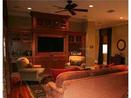 This is the master suite sitting area.