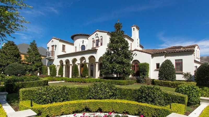 From the classical exterior to the cutting-edge exterior, this $2.4 million dollar mansion will knock your socks off.