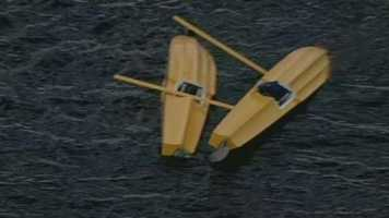 Investigators are looking into what caused a plane to sink into a lake overnight.