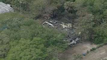 A house fire destroyed a 1200 square foot home near Daytona Beach early Wednesday morning.