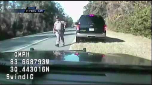 A local lawmaker is talking about a controversial traffic stop that was captured on police dash camera.
