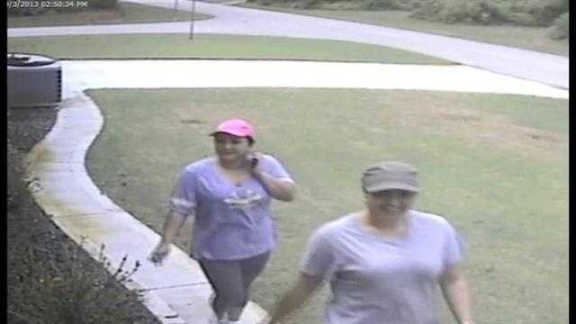 Raw Video: Flagler attempted burglary