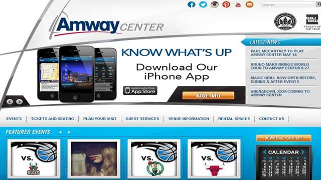For information on upcoming events, tickets and more photos, visit AmwayCenter.com.