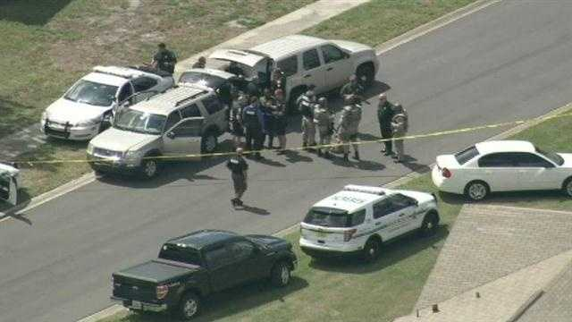 One person was injured in a deputy-involved shooting at a home near SeaWorld on Wednesday morning, officials said.