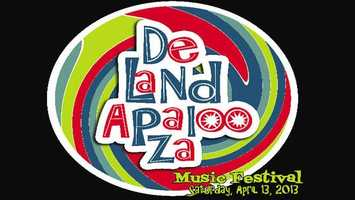 DeLandapalooza Orginal Music Festival: SSA presents a 12-hour music event Saturday featuring rock, folk, blues, Americana, jazz, punk, electronic, hip hop and country. Advanced tickets cost $10 and $15 at the gate. For more info, visit ssa.cc.