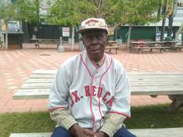 Doc Graham played with Jackie Robinson in Florida.