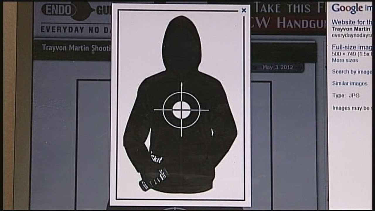 A Port Canaveral police sergeant has been fired after bringing targets resembling Trayvon Martin to a police firearms training session.