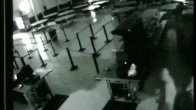 Raw Video: Marion County school burglary