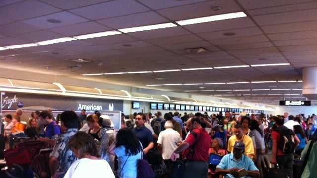 American Airlines outage.JPG