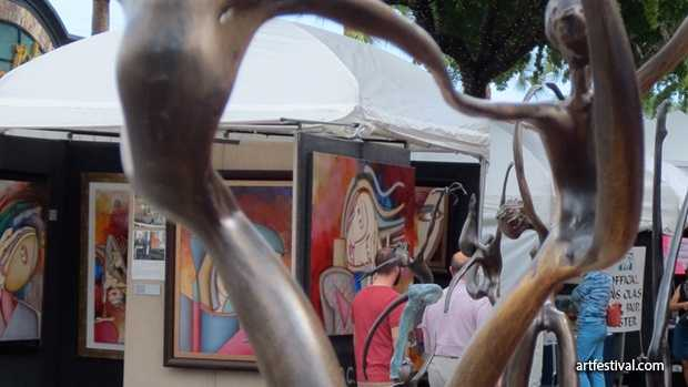 Celebration Art Festival: Market Street will feature art from 10 a.m. until 5 p.m. on Saturday and Sunday.