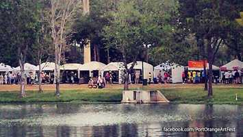 Port Orange Art Festival: Art lovers can gather at 100 City Center in Port Orange on Saturday from 9 a.m. until 5 p.m. and Sunday from 10 a.m. to 4 p.m.