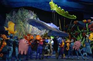 """""""Finding Nemo -- The Musical"""" opened in 2007."""