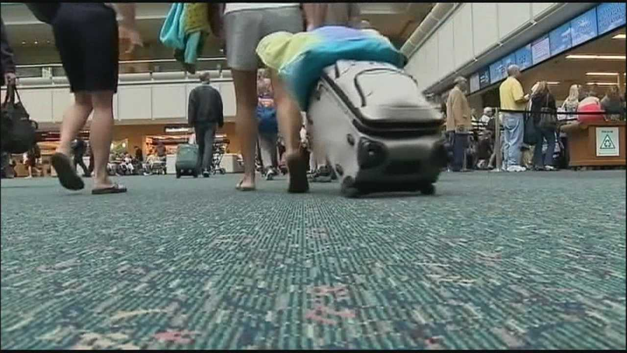 The flight boards have seen some relief at Orlando International, but some travelers worry the weekend could bring more delays due to FAA furloughs.