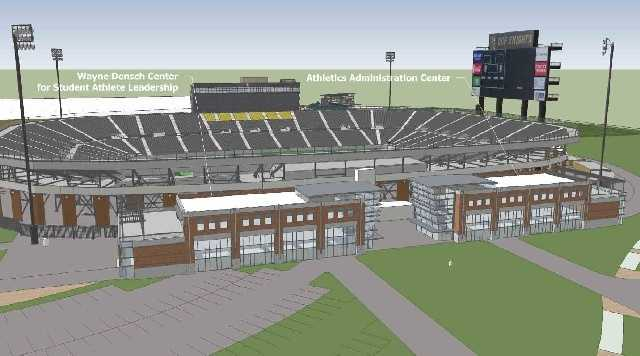 The schools seeks to add on to Bright House Stadium, the baseball stadium and the tennis complex.