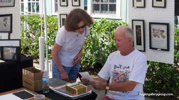 Art and Wine Walk: Flagler Avenue in New Smyrna Beach hosts this event from 1 p.m. to 7 p.m. Saturday.