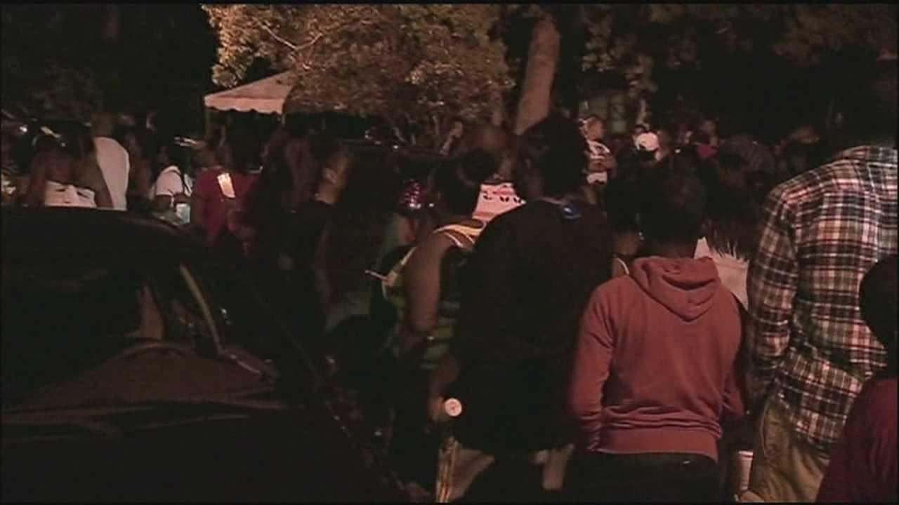 Vigil held to remember homicide victim