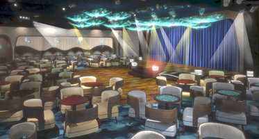 Fathoms on the Disney Magic is a night club inspired by the excitement of the sea that utilizes special effects, lighting and sound to create different atmospheres from early evening to night.