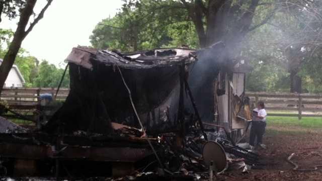 Summerfield Mobile Home Fire photo2.JPG