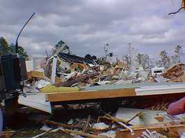 4. Feb. 23, 1998 – An EF3 tornado hits Seminole and Volusia counties at 12:10 a.m., killing 13 and injuring 36.