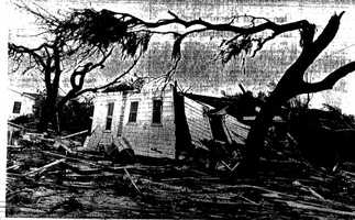 5. April 4, 1966 – One of Florida's longest-ever recorded tornadoes, this EF4 tornado went 135 miles through Pinellas, Hillsborough, Polk, Osceola and Brevard counties, killing 11 people and injuring 530.
