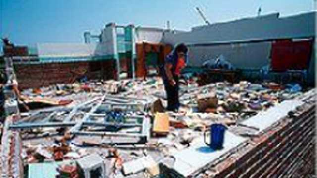 9. May 4, 1978 – An EF3 tornado in Pinellas County hit an elementary school, killing three students and injuring 94.