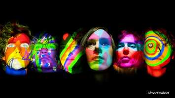 Of Montreal: The band Of Montreal plays The Social in downtown Orlando at 6 p.m. Saturday.
