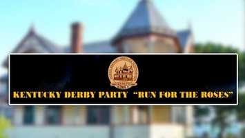 """Kentucky Derby Garden Party: The Historic Pritchard House at 424 South Washington Ave., in Titusville hosts """"Run for the Roses"""" party. Mint Juleps, wine, lemonade and folk singer Chris Kahl will accompany the race on a jumbo screen."""
