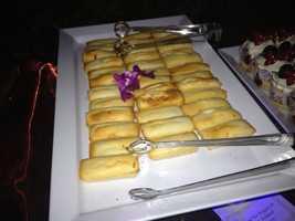 Gluten-free pastries.