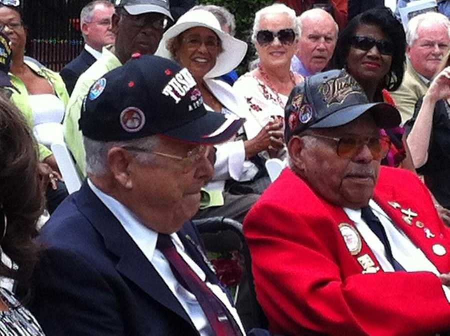 The event also recognized surviving pilots who call Central Florida home, including Lt. Colonels George Hardy and Hiram Mann.