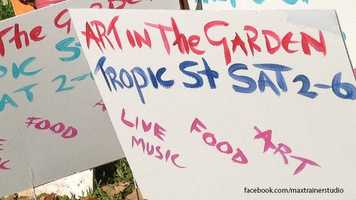 Art in the Garden: Fine art and live music will take to Titusville from 2 until 6 p.m. Saturday. Enter at the corner of Tropic Street and Rock Pit Road.