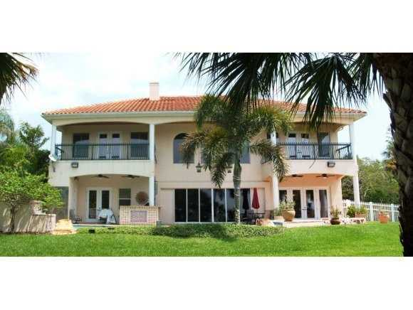 The two-story, 4,600 sq. feet home is located in Merritt Island.