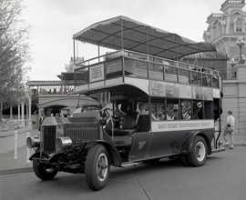 """The Omnibus on Main Street was an """"A"""" ticket ride."""