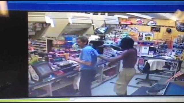 Ocala police are looking for two men who robbed a discount beverage store last month.