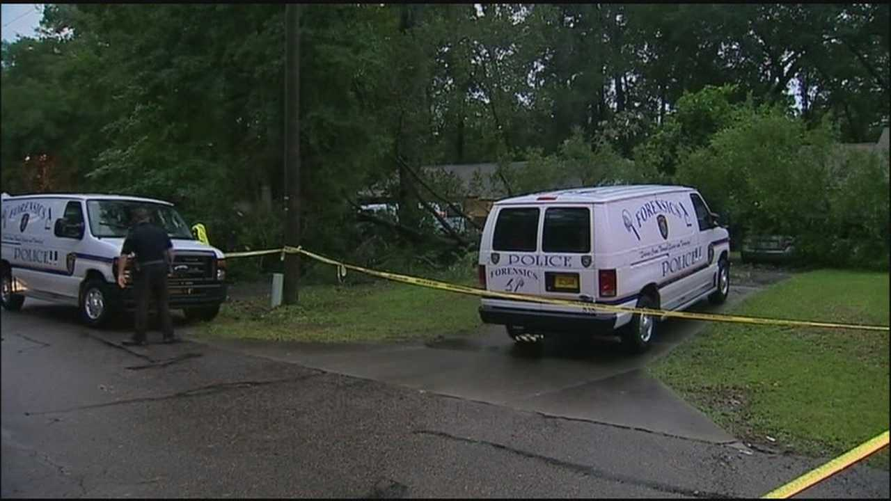 A man was killed when a tree fell onto his car during a thunderstorm in Marion County.