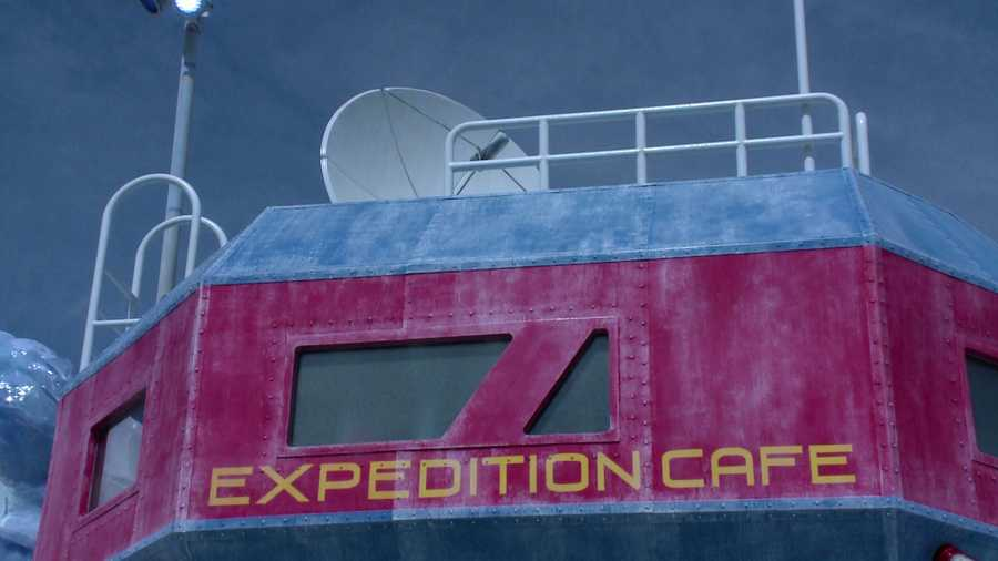 Dine at Expedition Cafe.