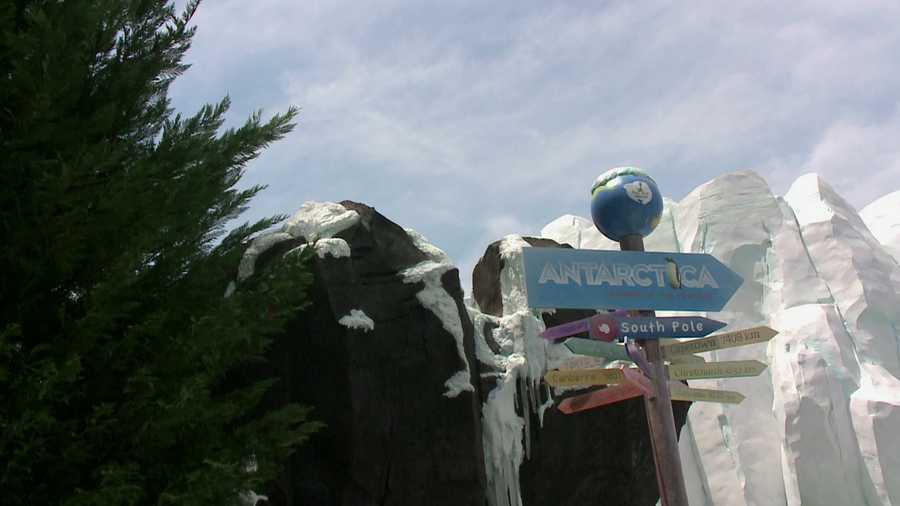 It is the largest attraction expansion in the park's history and is meant to immerse guests in the experience of Antarctica.