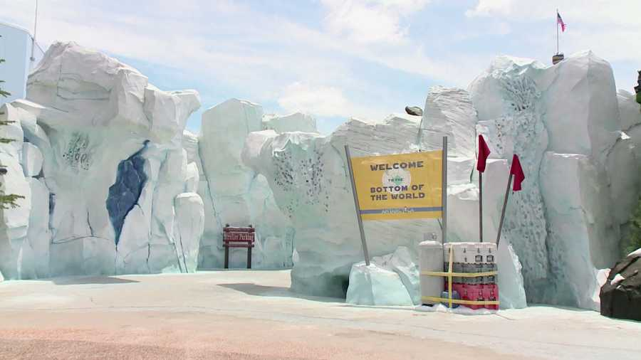 """SeaWorld's """"Antarctica: Empire of the Penguin"""" is opening to the public on May 24."""