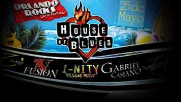 Orlando Rocks! Latin Edition: The House of Blues hosts local latin bands at Downtown Disney. The doors open at 7 p.m. and tickets cost $5.