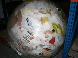 13. Plastic bag ball