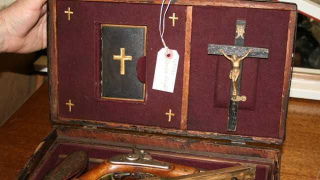 5. An 1800s vampire killing kit