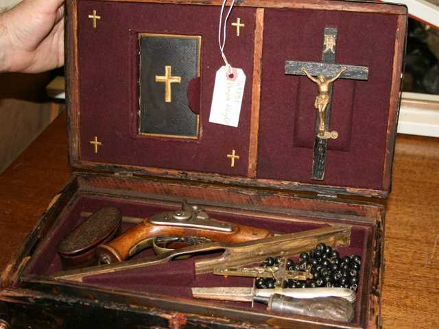 5. An 1800s vampire killing kit