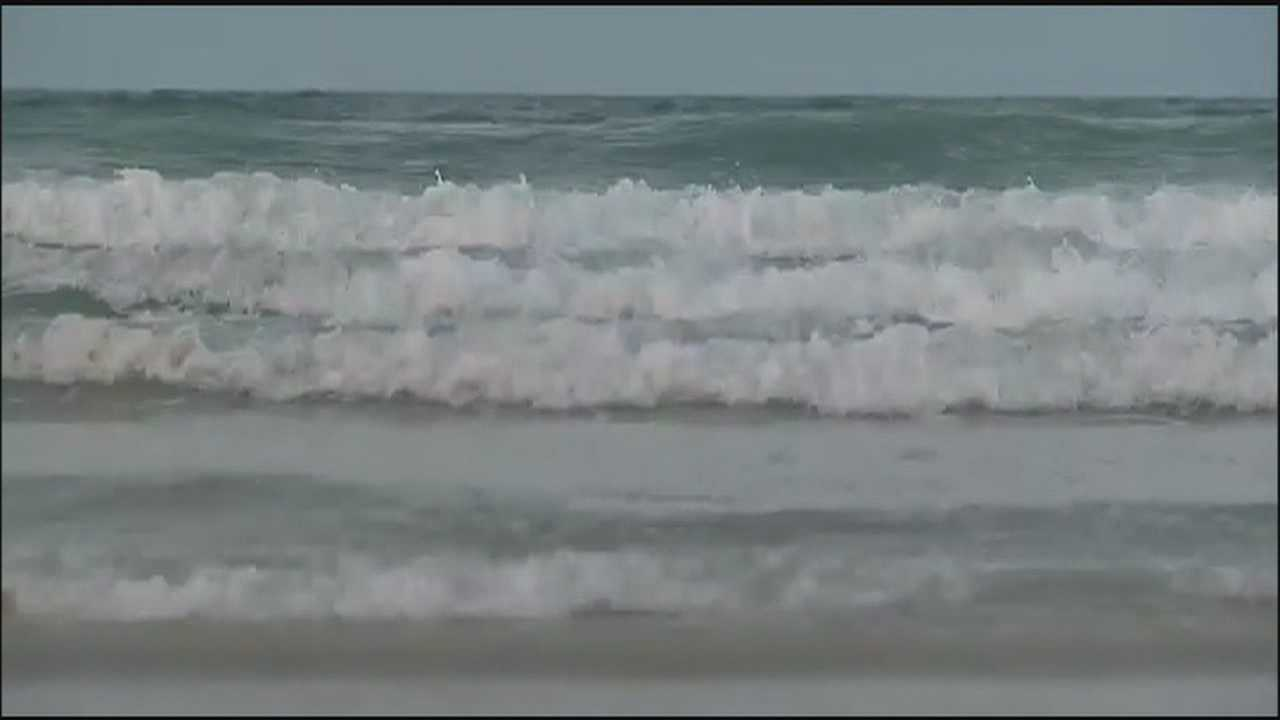 More than 100 people had to be recovered over the holiday weekend on local beaches because of rip currents.