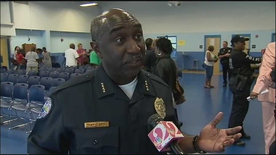 Cecil Smith: The current police chief in Sanford.