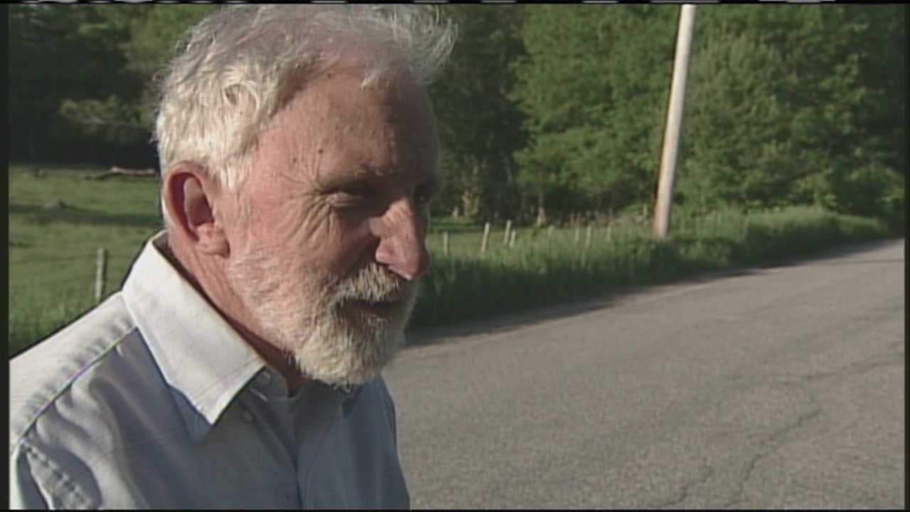 A man missing overnight is found as he walks up to WMTW News 8's Norm Karkos. He has the story from Limington.