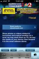 Help us report the storms by uploading your pictures and video on u local right from the app.