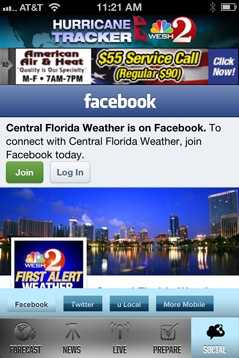 See the latest maps and models posted on our Central Florida Weather Facebook page.