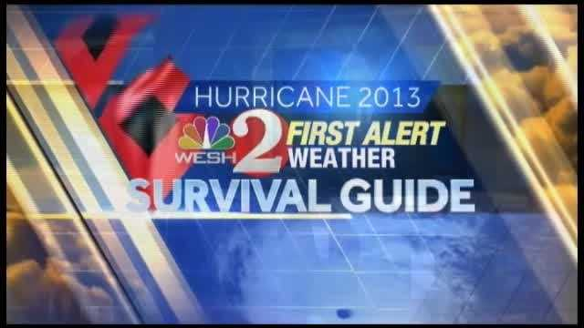 WESH 2 First Alert meteorologist Amy Sweezey examines the four different sections of a powerful storm.