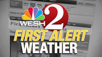 Before you head out, don't forget to check the weather. Click WESH.com's weather section for the latest forecast and interactive radar.