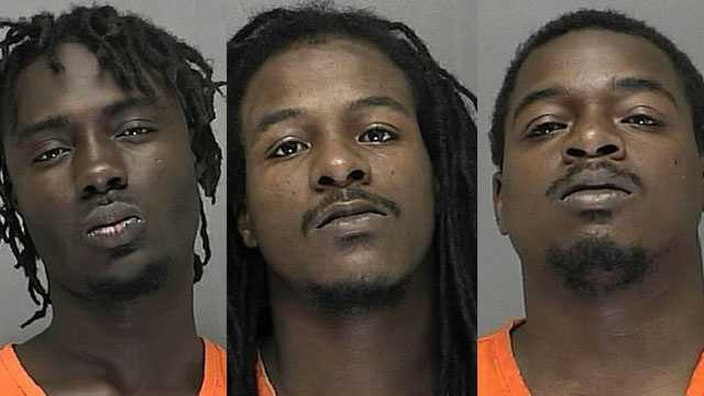 Waymon Hall, Markece Williams, James Williams