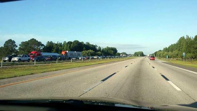 I-4 traffic jam